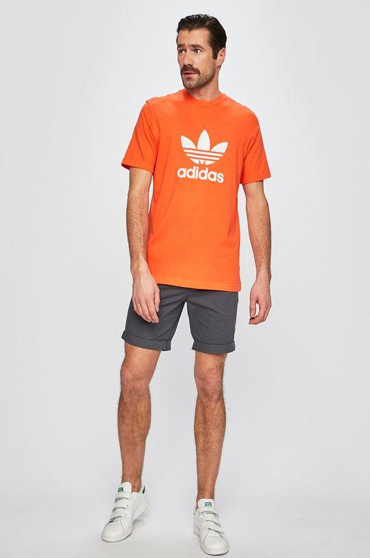 adidas Originals - Pánske tričko oranžová