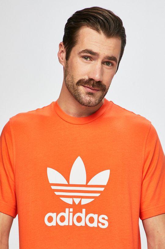 oranžová adidas Originals - Pánske tričko