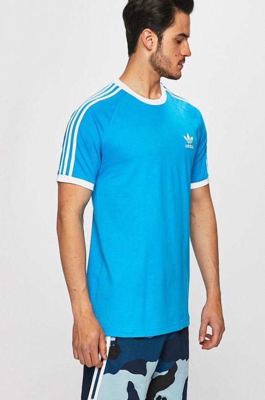 kék adidas Originals - T-shirt Férfi