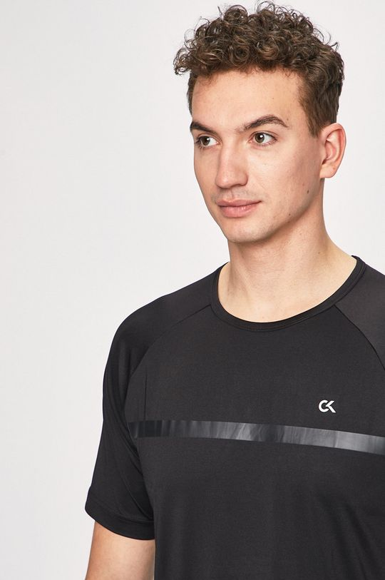 černá Calvin Klein Performance - Tričko