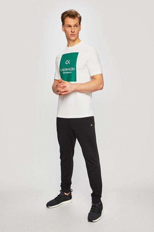 Calvin Klein Performance - Tričko bílá