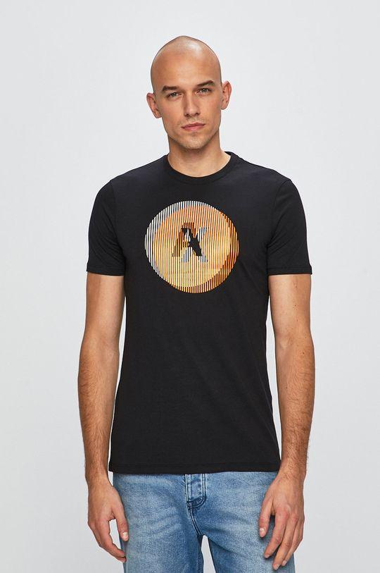 čierna Armani Exchange - Pánske tričko