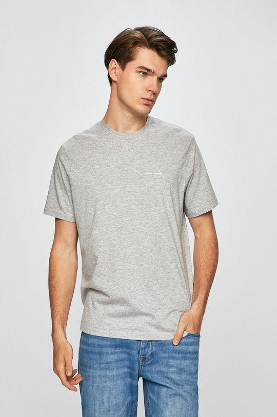 sivá Armani Exchange - Pánske tričko Pánsky