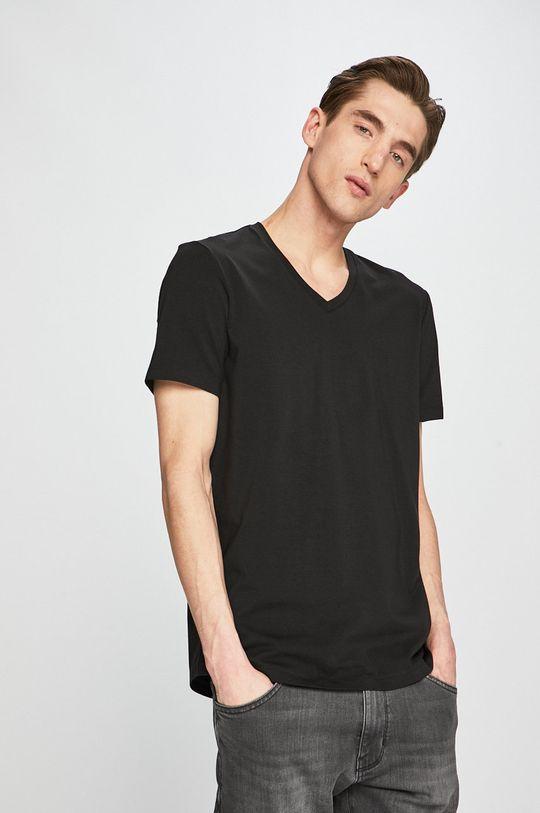 čierna Armani Exchange - Pánske tričko Pánsky