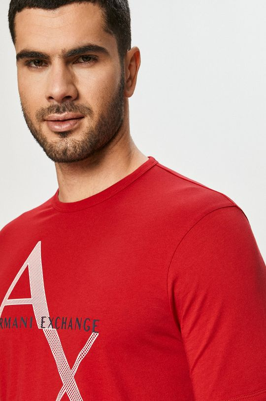 červená Armani Exchange - Tričko