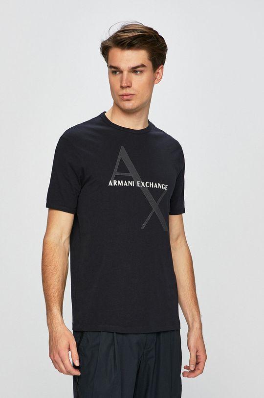 námořnická modř Armani Exchange - Tričko