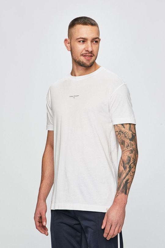 biela Scotch & Soda - Pánske tričko Pánsky