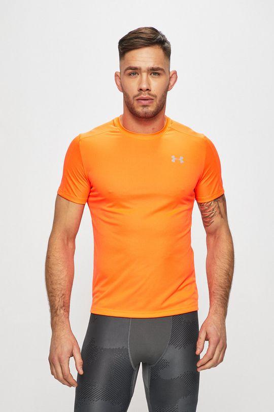 pomarańczowy Under Armour - T-shirt Męski