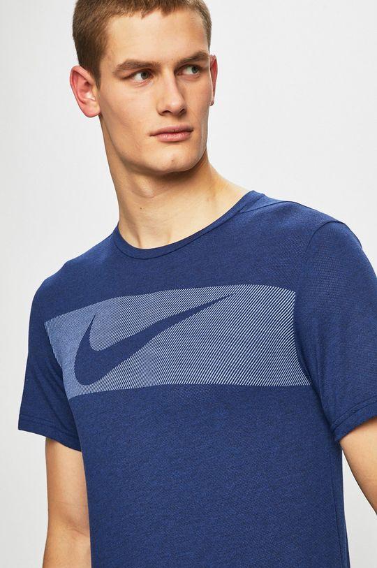 námořnická modř Nike - Tričko Pánský