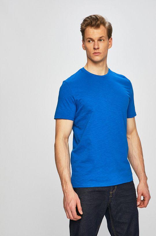 modrá Tom Tailor Denim - Pánske tričko Pánsky