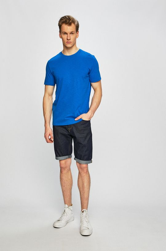 Tom Tailor Denim - Pánske tričko modrá