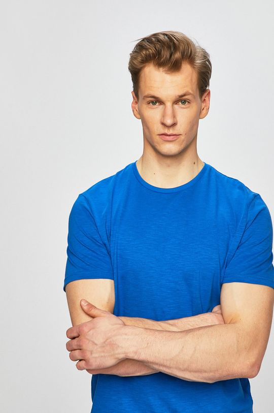 modrá Tom Tailor Denim - Pánske tričko