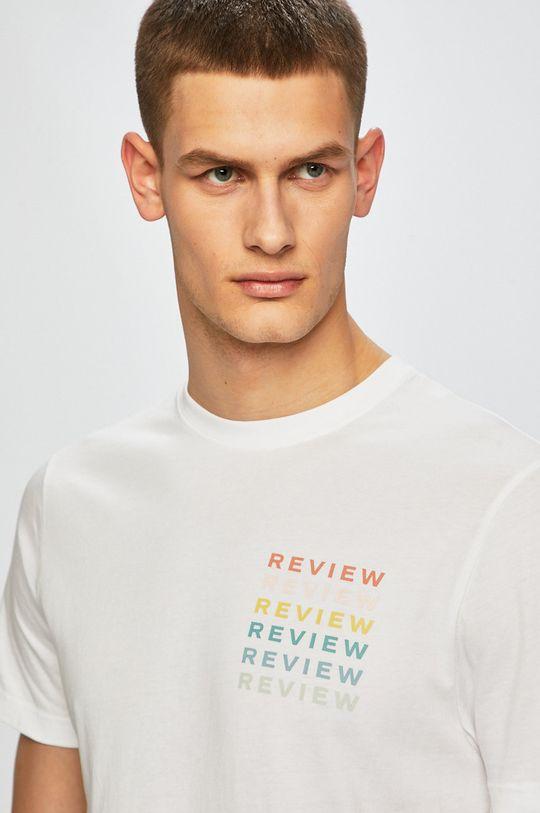 biela Review - Pánske tričko Pánsky