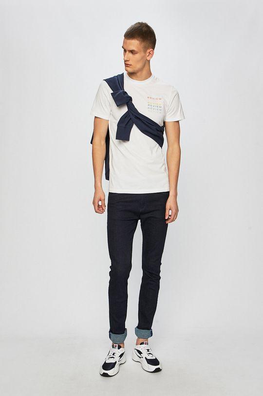Review - Pánske tričko biela