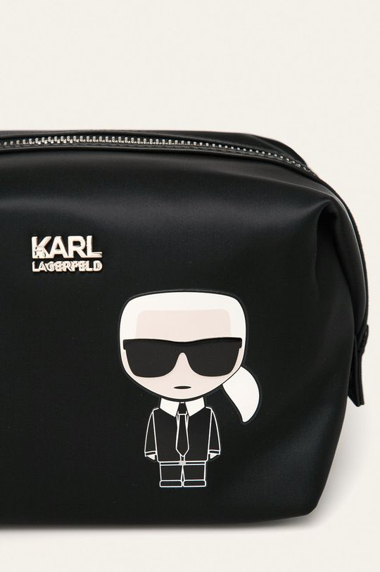 Karl Lagerfeld - Kozmetická taška čierna