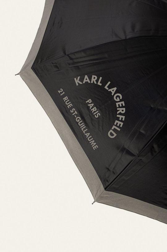 Karl Lagerfeld - Dáždnik  40% Polyester, 60% Oceľ
