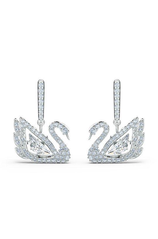 Swarovski - Kolczyki Dancing Swan Kamień, Kryształ Swarovskiego