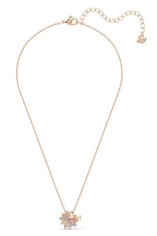 zlatá Swarovski - Náušnice a náhrdelník Set Fly Dámský