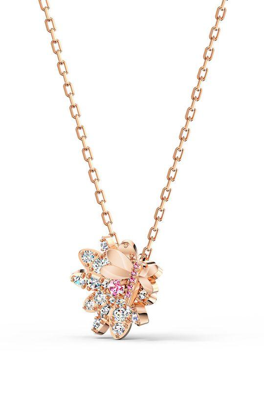Swarovski - Náušnice a náhrdelník Set Fly zlatá