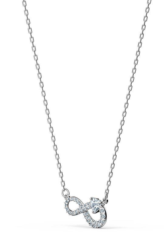 Swarovski - Náhrdelník Infinity stříbrná