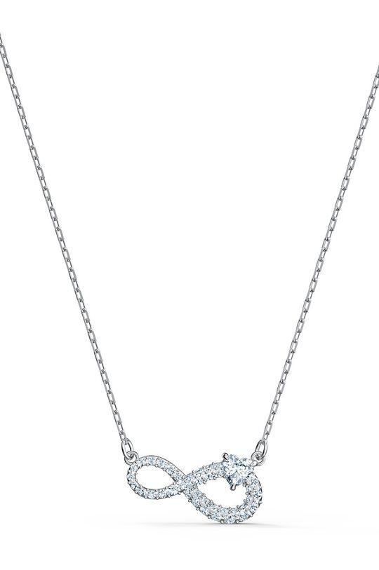 Swarovski - Náhrdelník Infinity  Kov, Svarovského krystal