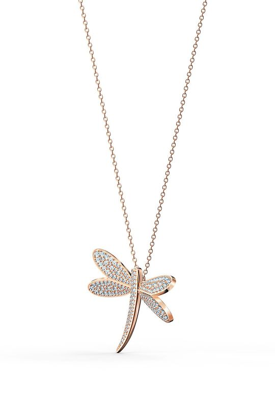 Swarovski - Náhrdelník Eternal flower zlatá