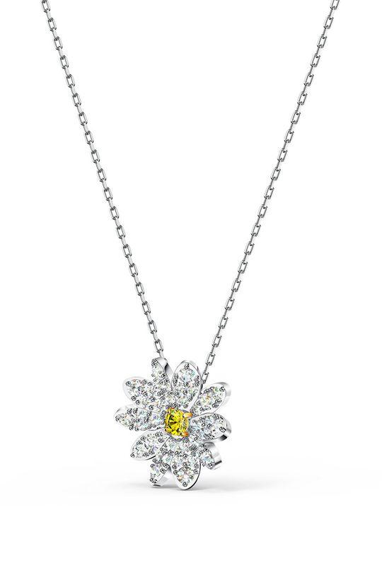 Swarovski - Náhrdelník Eternal flower stříbrná