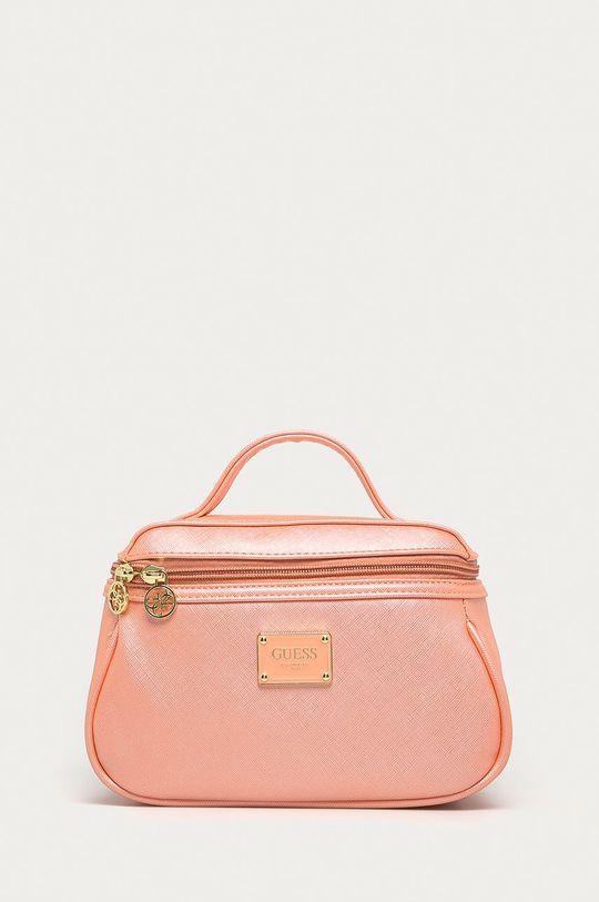 růžová Guess Jeans - Kosmetická taška Dámský