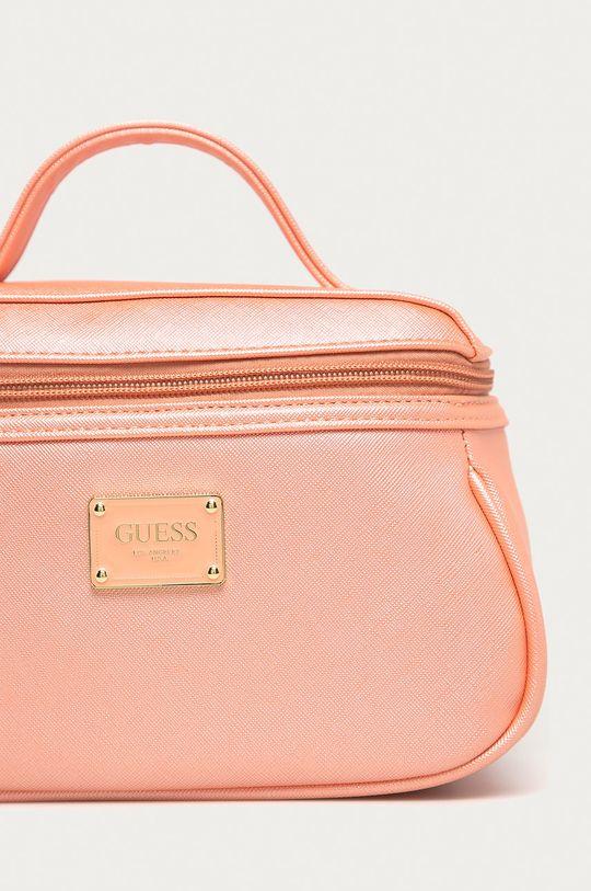 Guess Jeans - Kosmetická taška růžová