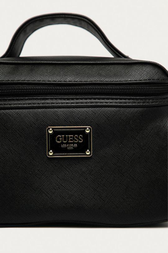 Guess Jeans - Kosmetická taška černá