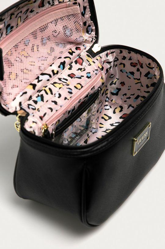 černá Guess Jeans - Kosmetická taška