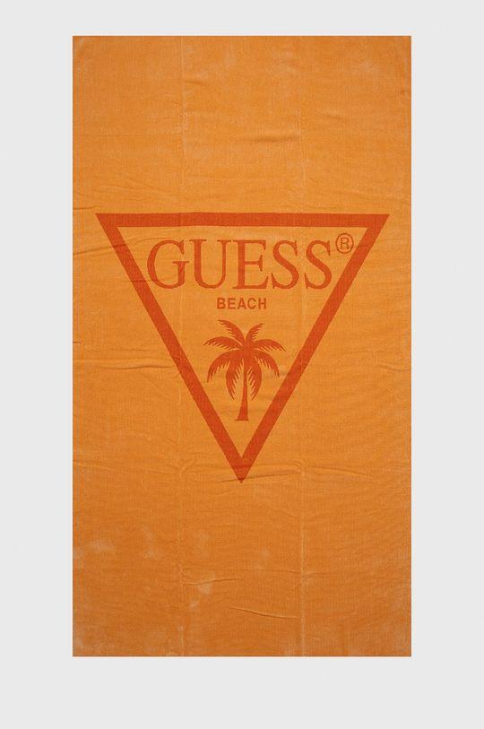 pomarańczowy Guess Jeans - Ręcznik plażowy Męski