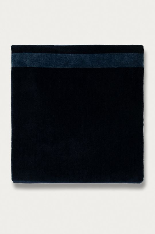 Guess Jeans - Ręcznik plażowy granatowy
