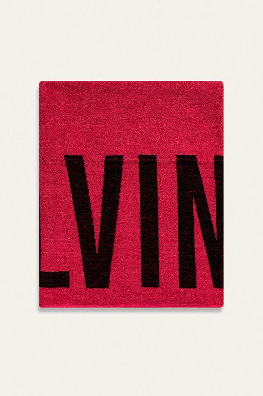 Calvin Klein - Ručník ostrá růžová
