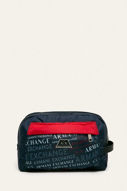 tmavomodrá Armani Exchange - Kozmetická taška Pánsky