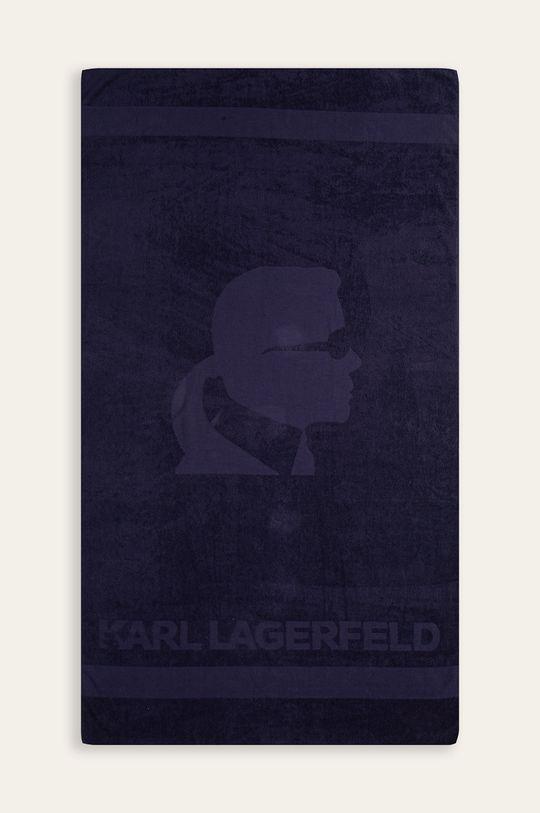 granatowy Karl Lagerfeld - Ręcznik Męski