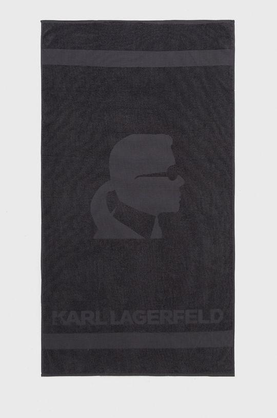 szary Karl Lagerfeld - Ręcznik Męski