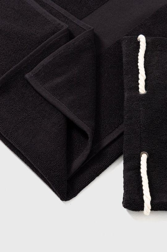 czarny Karl Lagerfeld - Ręcznik