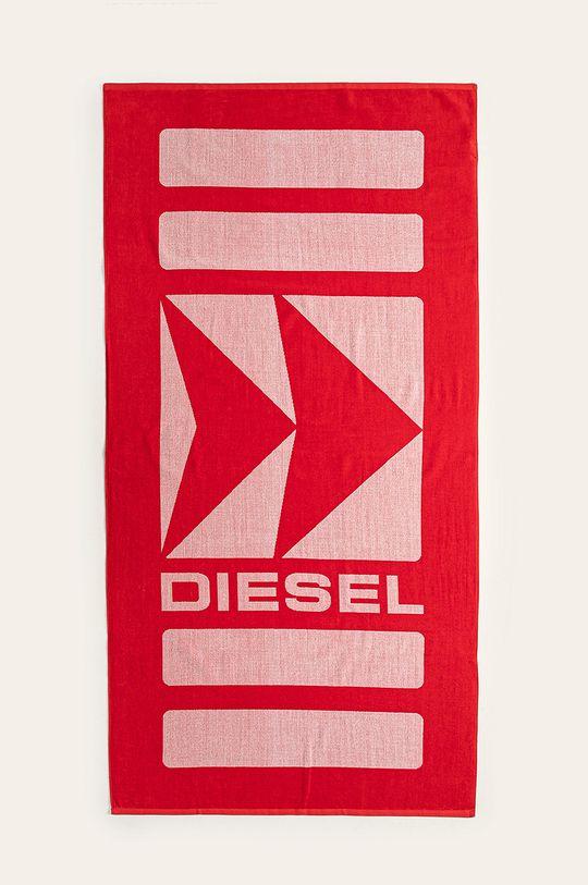 červená Diesel - Ručník Pánský