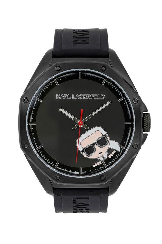 černá Karl Lagerfeld - Hodinky 5513174 Pánský