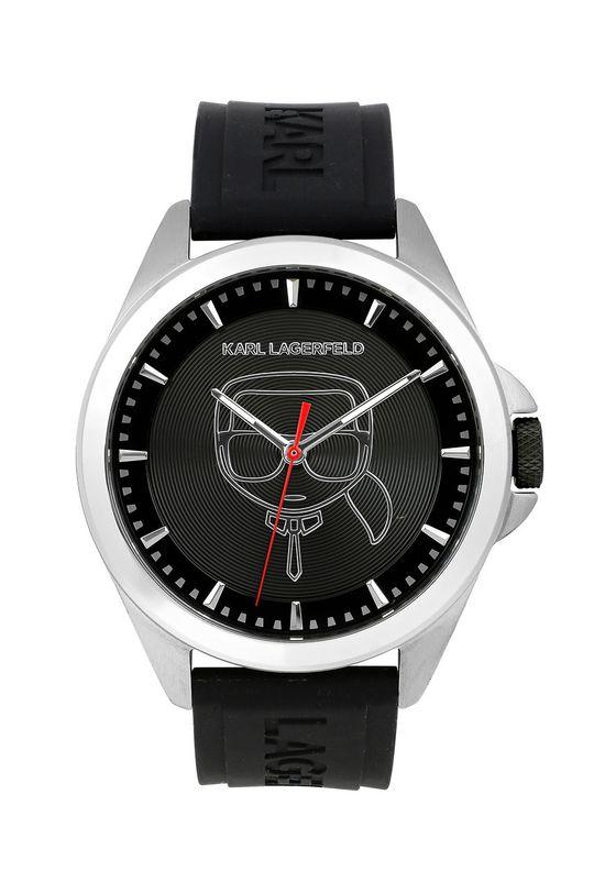 černá Karl Lagerfeld - Hodinky 5513178 Pánský