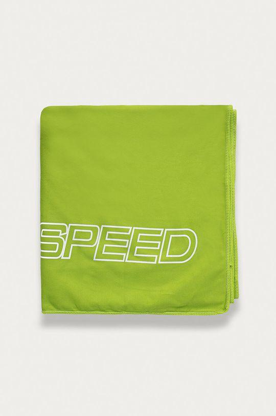 Aqua Speed - Ręcznik żółto - zielony