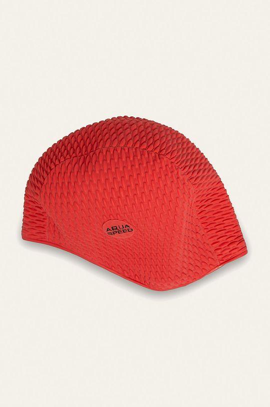 czerwony Aqua Speed - Czepek pływacki Unisex