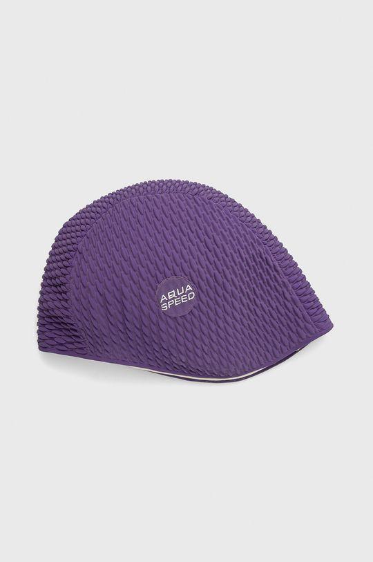 purpurowy Aqua Speed - Czepek pływacki Unisex