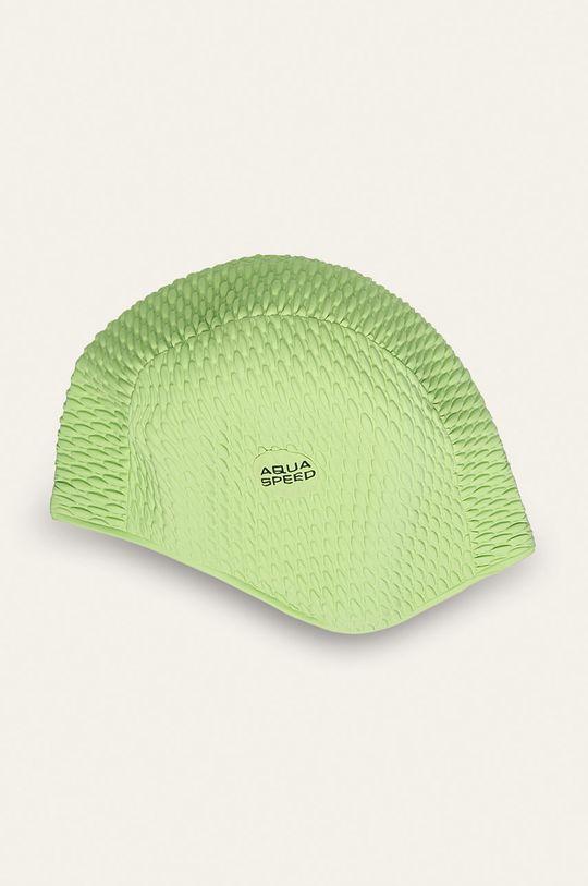żółto - zielony Aqua Speed - Czepek pływacki Unisex