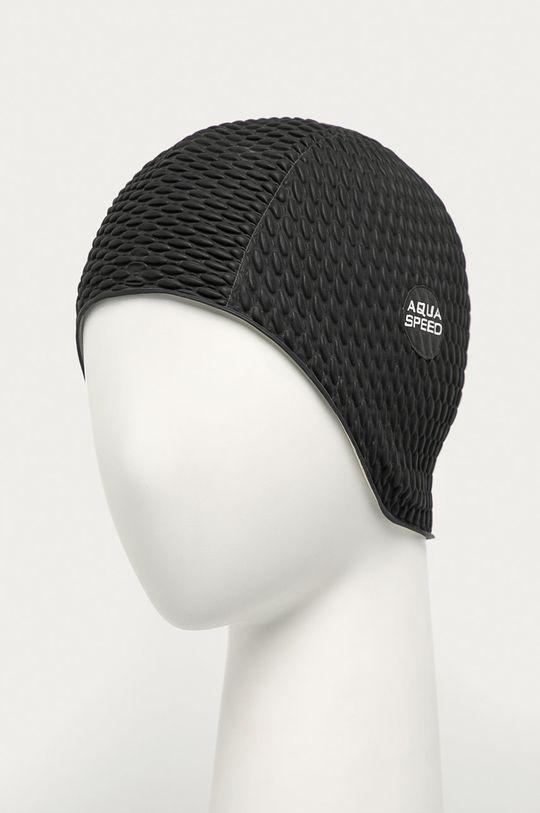 czarny Aqua Speed - Czepek pływacki Unisex