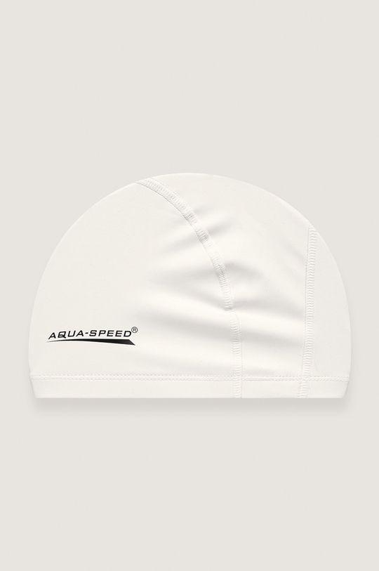 biały Aqua Speed - Czepek pływacki Unisex
