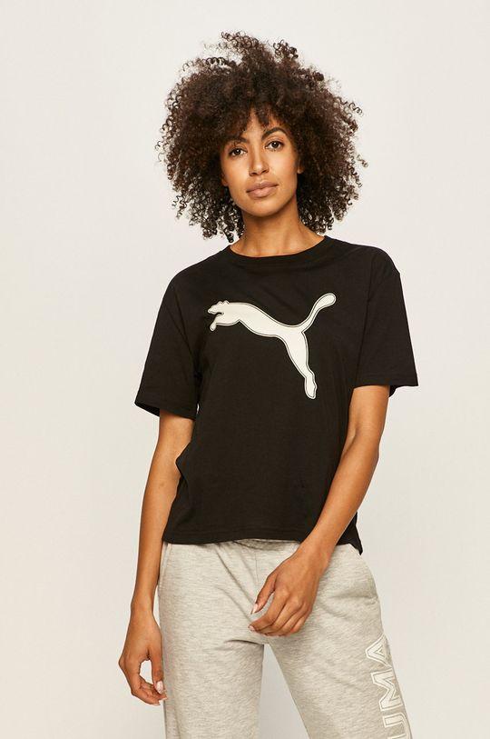 черен Puma - Тениска Жіночий