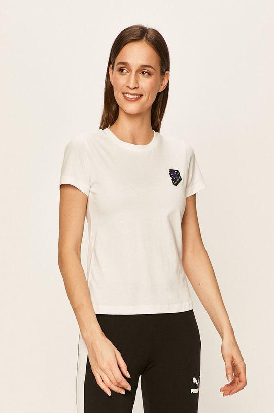 biały Puma - T-shirt