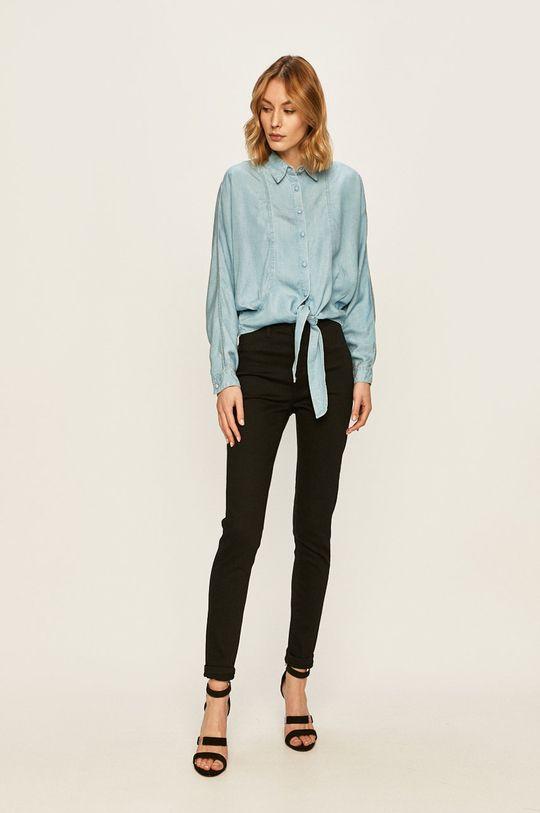 Guess Jeans - Camasa jeans albastru deschis